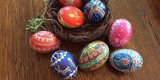 Ukrainian Egg Painting - Create your own Pysanka !!!