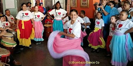 FREE BOMBA DANCE  CLASSES for CHILDREN tickets