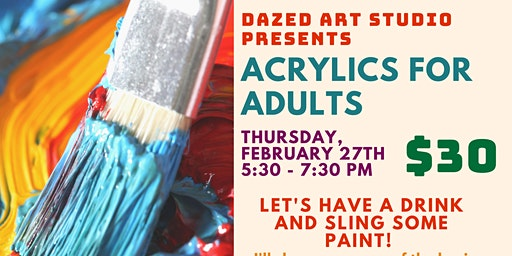 Acrylics for Adults: Impasto Painting