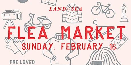 Land & Sea Flea Market - Stall Holder booking tickets