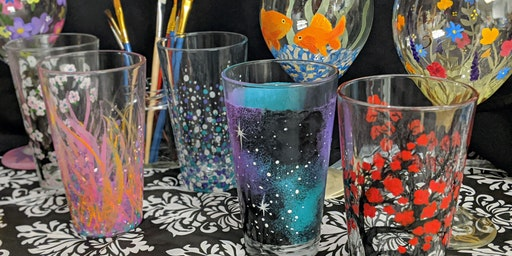 Pint Glass Painting Class
