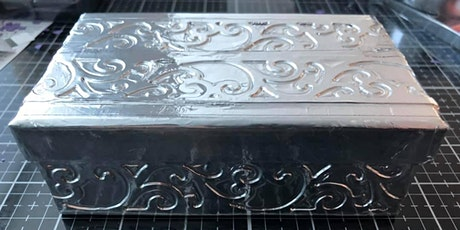 Metal Embossing Boxes Workshop March 9th, 2020 tickets