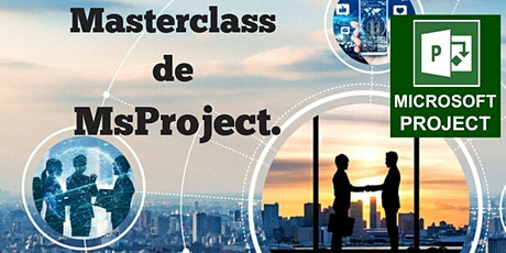 Masterclass de Msproject tickets