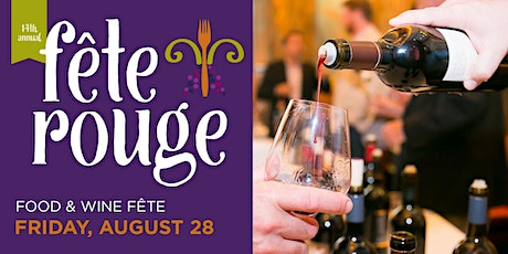 14th Annual Fête Rouge: Food & Wine Fête  tickets