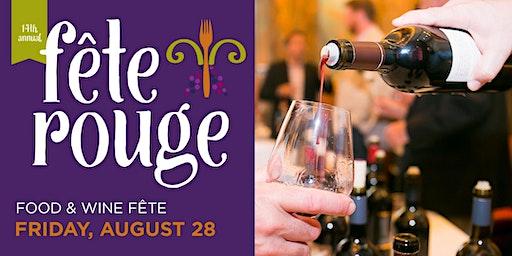 14th Annual Fête Rouge: Food & Wine Fête