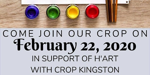 Crop in support of H'Art Kingston