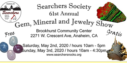 61st Annual Searchers Gem and Mineral Show