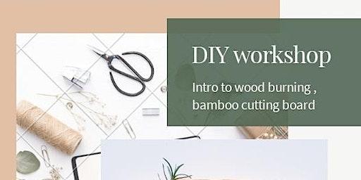 Wood burning workshop with Nanette Art and Design