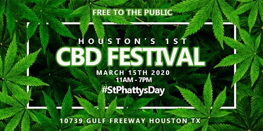 HOUSTON'S 1ST CBD FESTIVAL