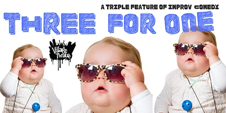 Three For One: 3-5-20 tickets