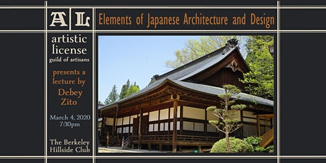 Elements of Japanese Architecture and Design tickets