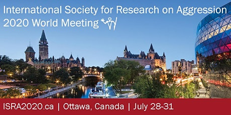 The 2022 International Society for Research on Aggression World Meeting billets