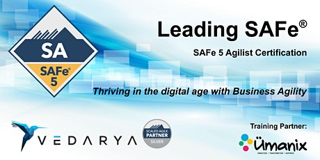 Leading SAFe - Certified SAFe Agilist 5.0 (En Français) CONRIFMÉ billets