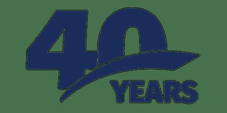 Bateman MacKay LLP 40th Anniversary tickets