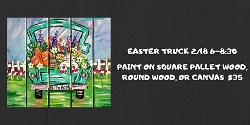 Easter Truck Paint Night