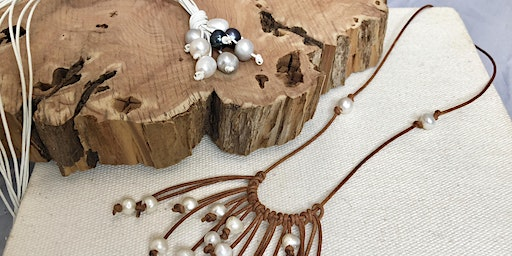 Teens and Tweens Jewelry Making: Pearl and Leather Jewelry