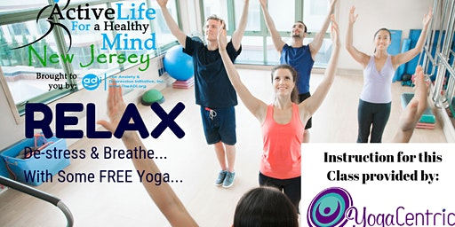 FREE Yoga Class at the Clifton Library (Allwood Branch) - 4/18/20