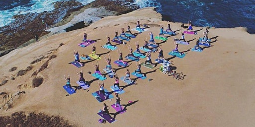 Sunday Morning Yoga on Sunset Cliffs 3/1 11am