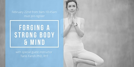Forging a Strong Body & Mind tickets