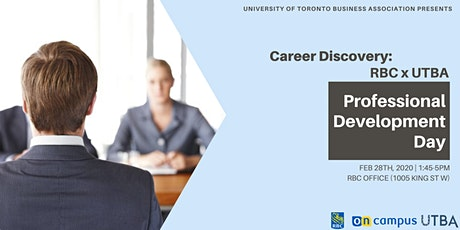 Career Discovery: RBC X UTBA Professional Development Day tickets
