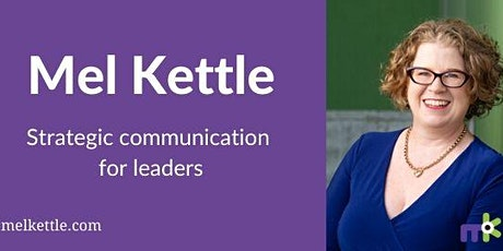 Strategic communication for leaders - Melbourne tickets