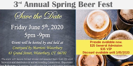 3rd Annual Spring Beer Fest tickets