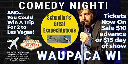 Great Exspechtations (Waupaca) presents COMEDY NIGHT w/ The Mighty Jer-Dog