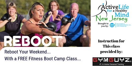 FREE Fitness Boot Camp Class at the Totowa Library - 5/2/20 tickets