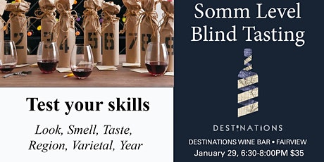Sommelier Level Wine Tasting Class tickets