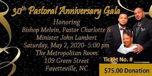 Lamberts' 30th Pastoral Anniversary Gala