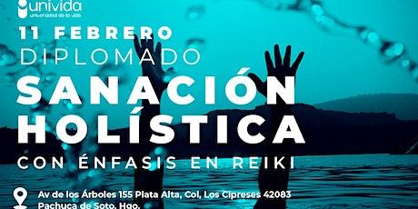 Diplomado en Sanación  Holística con énfasis en Reiki PACHUCA boletos