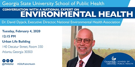 Conversation with Dr. David Dyjack, National Expert on Environmental Health tickets