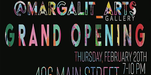 @Margalit_Arts Gallery Grand Opening