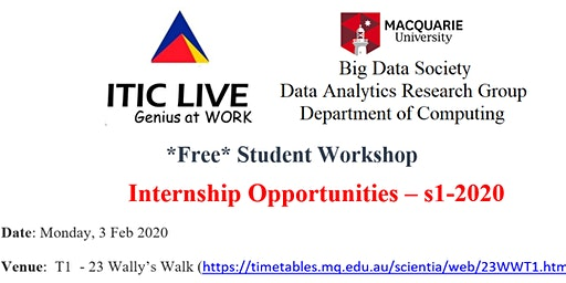 ITIC-BigDataSociety - Internship Opportunities – s1-2020
