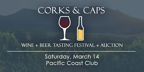 Corks & Caps Wine + Beer Tasting Festival + Auction 2020 tickets
