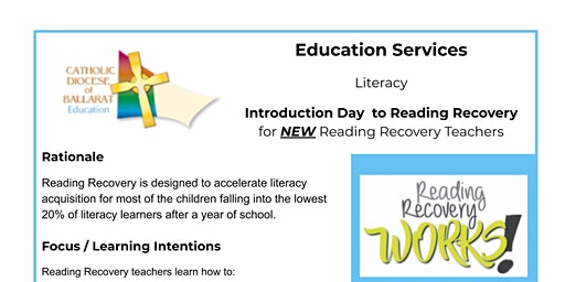 Introduction Day to Reading Recovery for NEW teachers