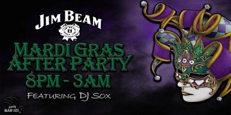 Official Jim Beam Mardi Gras After Party @ Bar 101 Soulard St. louis tickets
