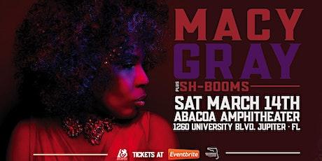 MACY GRAY - JUPITER tickets
