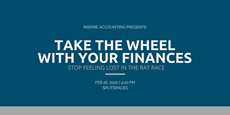Take the Wheel with your Financials tickets