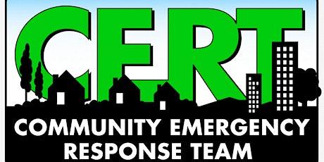 Free Basic Community Emergency Response Training: CERT Fontana tickets