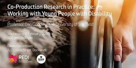 Co-Production Research in Practice: Working with Young People with Disability tickets