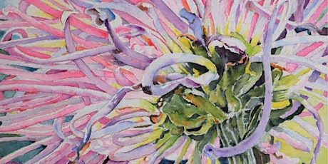2 Day Flowers in Watercolour workshop with Ann Clarke tickets