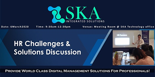 HR Challenges & Solutions Discussion
