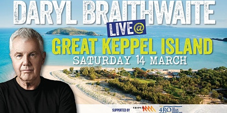 Daryl Braithwaite on Great Keppel Island 21st November tickets