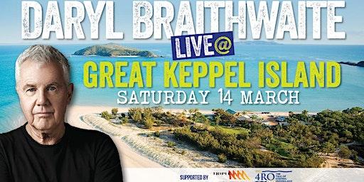 Daryl Braithwaite on Great Keppel Island 14th March