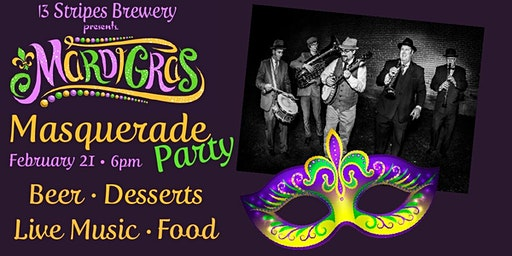 Mardi Gras Masquerade Party