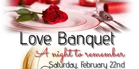 Love Banquet tickets