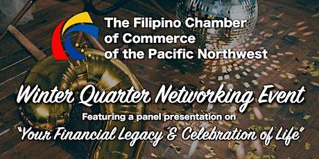 Filipino Chamber Winter Networking tickets