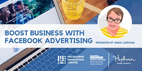 CANCELLED WORKSHOP: Boost Business with Facebook Advertising - Hepburn tickets