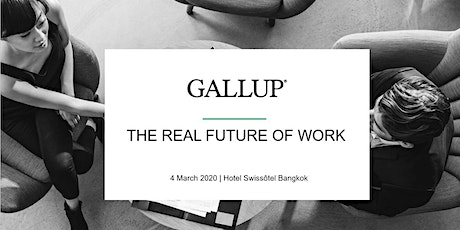 "Gallup ""The Future of Work 2020"" tickets"